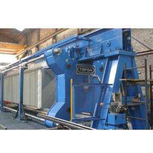 overhead filter press