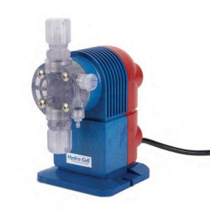 Solenoid hydra cell metering